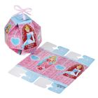 """Коробка подарочная """"С Новым годом!"""" Принцессы, 10 х10 x 10 см"""