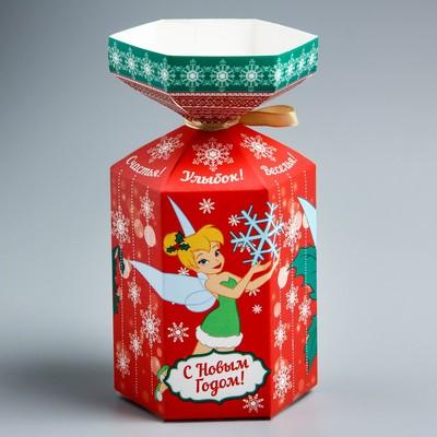 """Коробка подарочная """"Веселья!""""Феи, 9 х 4 х 4см"""