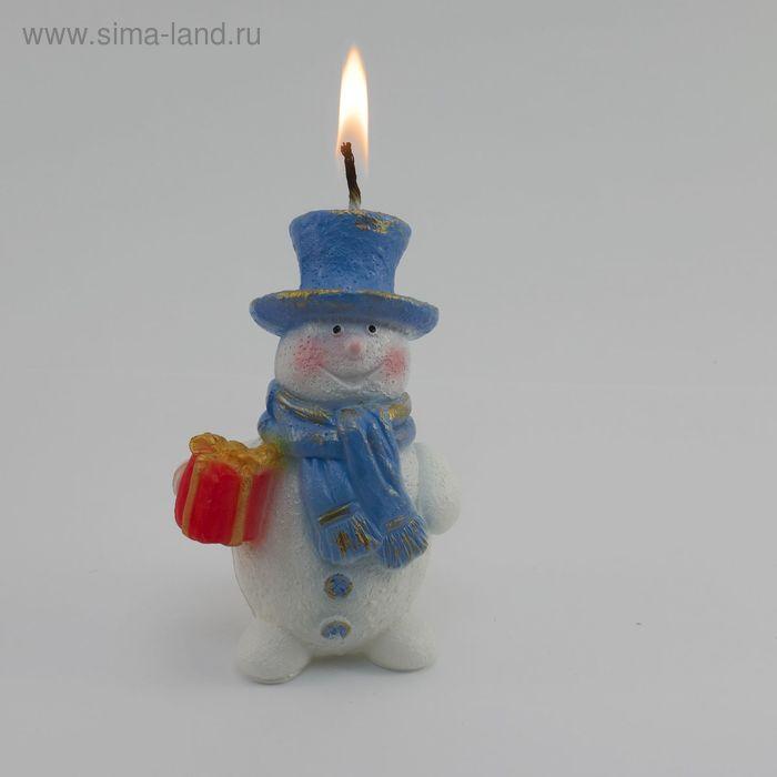 Свеча Снеговик 16177