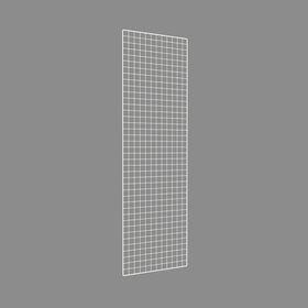 Сетка торговая 600*2000, окантовка 8мм, пруток - 4мм, цвет белый Ош