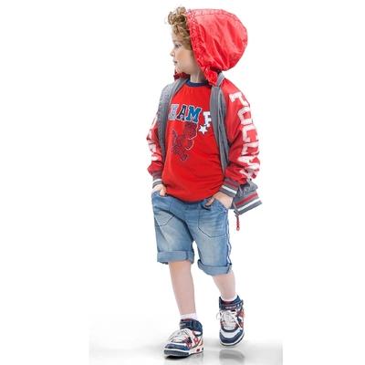 Ветровка для мальчика, возраст 3 года, цвет серый