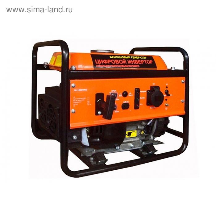 Электрогенератор бензиновый инверторный на рамной основе  HERZ  IG-1000-OF