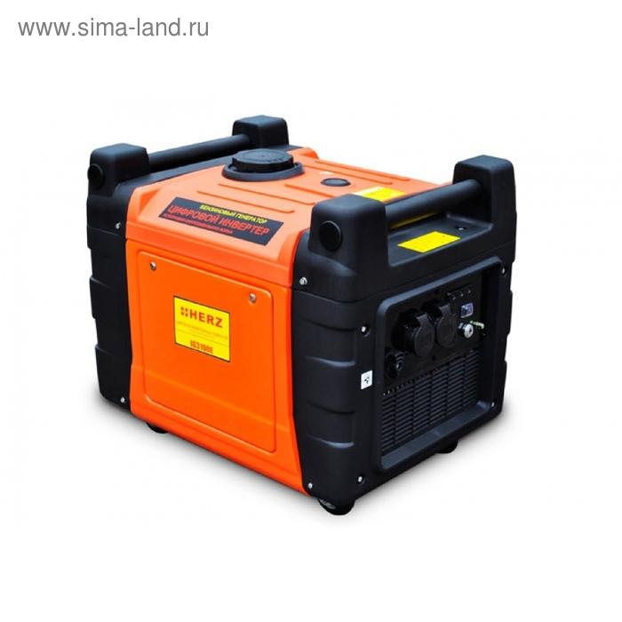Электрогенератор бензиновый инверторный  HERZ  IG-3100-Е
