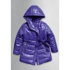Пальто для девочки, возраст 4 года, цвет фиолетовый