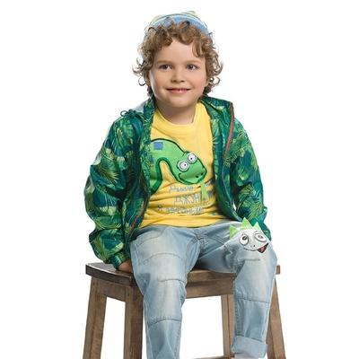 Ветровка для мальчика, возраст 2 года, принт джунгли