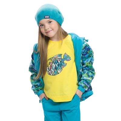 Ветровка для девочки, возраст 3 года, цвет голубой