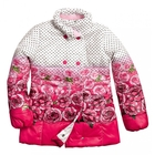 Куртка для девочки, возраст 7 лет, цвет красный