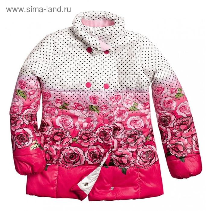 Куртка для девочки, 10 лет, цвет красный GZWL474