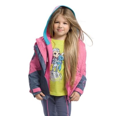 Ветровка для девочки, возраст 2 года, цвет розовый