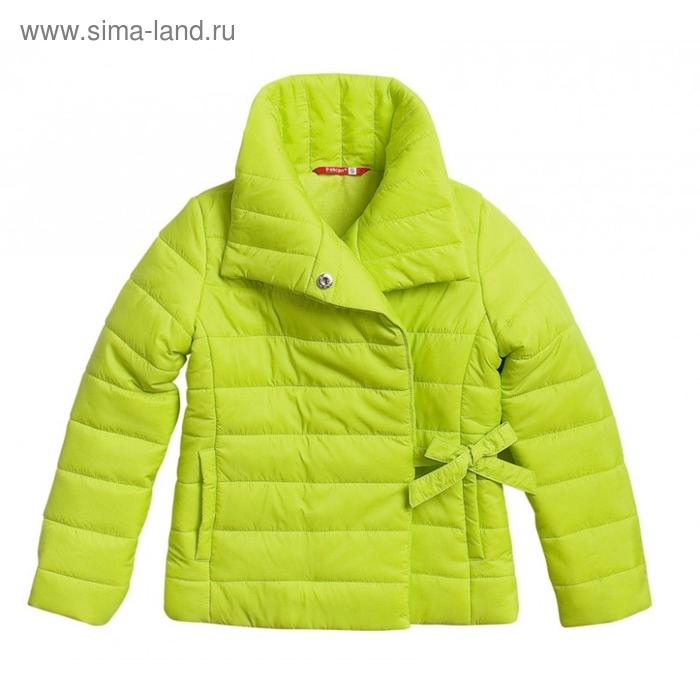Ветровка для девочки, 5 лет, цвет зелёное яблоко GZIM370