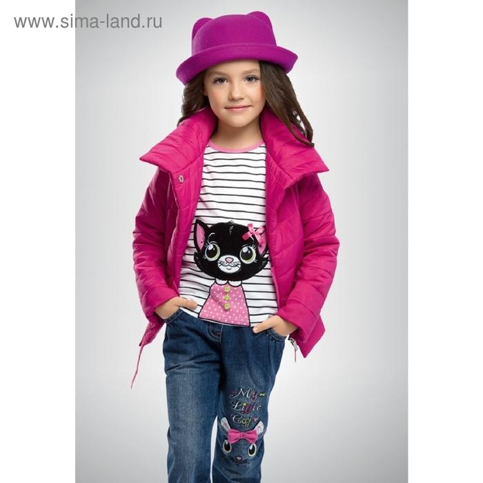 Ветровка для девочки, 5 лет, цвет малиновый GZIM370