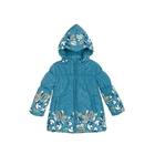 Куртка для девочки, возраст 4 года, цвет синий