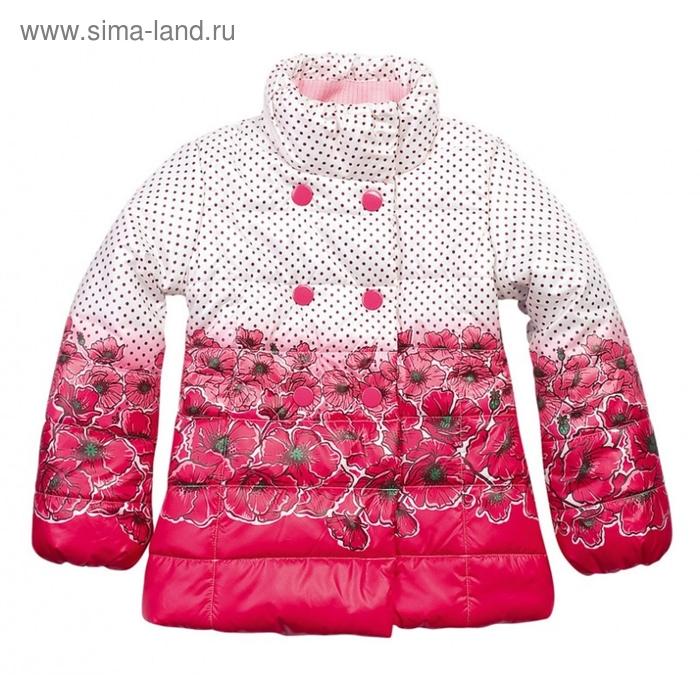 Куртка для девочки, 3 года, цвет красный GZWL374