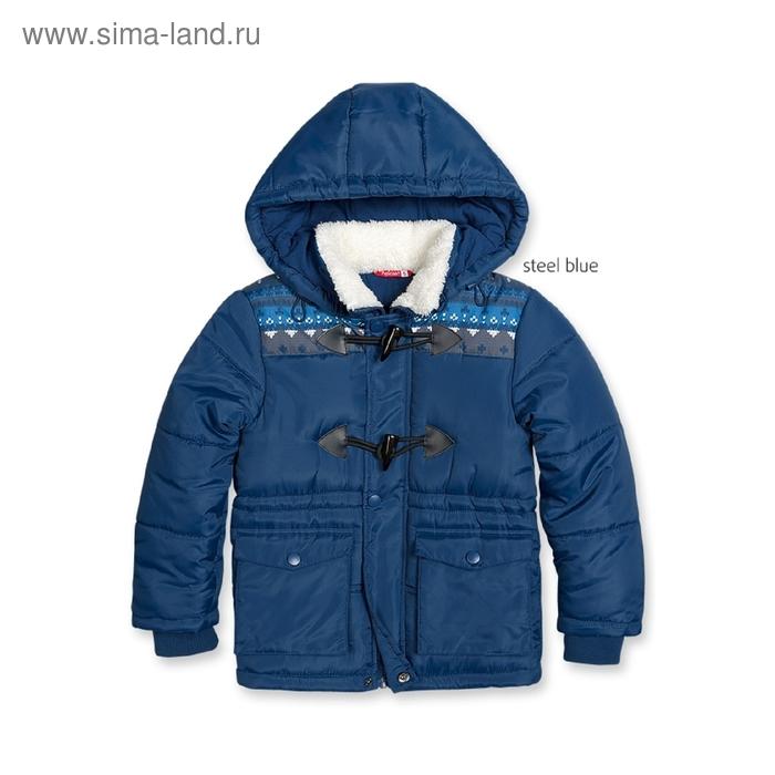 Куртка для мальчика, 4 года, цвет синий BZWT361