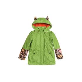 Плащ для девочки, возраст 2 года. цвет зелёный Ош