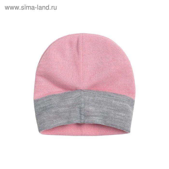 Шапка для девочки, размер 48-50, цвет розовый GQ380/2
