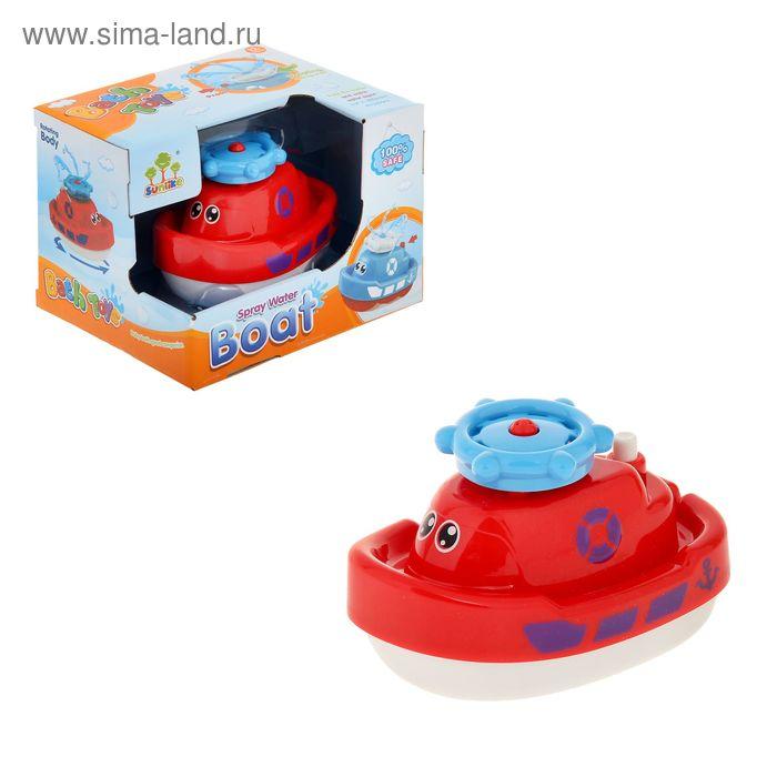 Игрушка для ванной «Кораблик», цвета МИКС