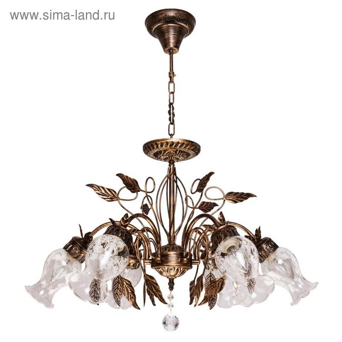 """Люстра """"Палаццо"""" 6 ламп, 40W Е14"""