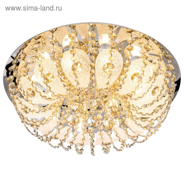 """Люстра """"Амалия"""", 10 ламп, с пультом, LED 60W Е27"""