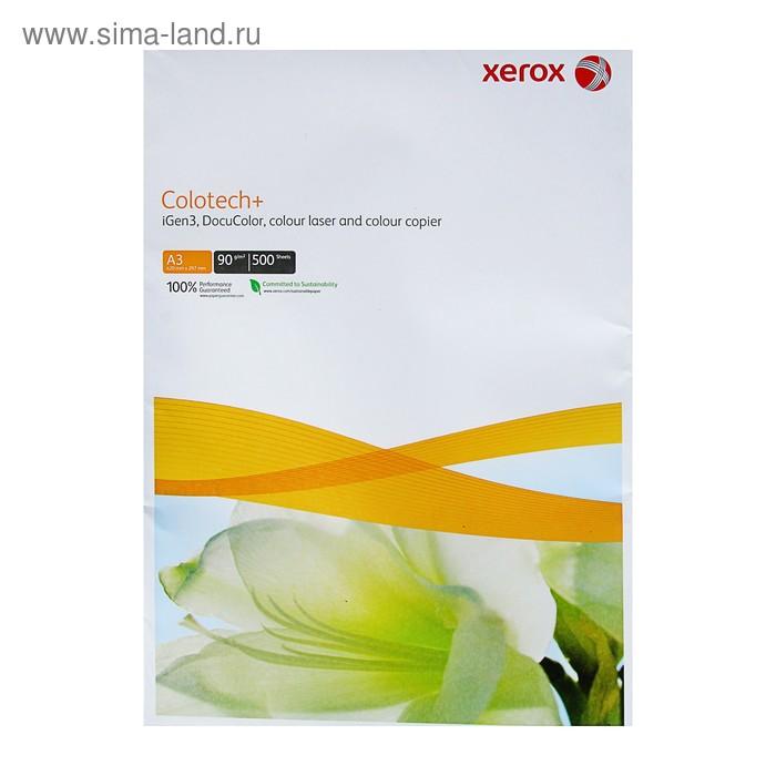 Бумага Xerox Colotech+ А3, 500 листов, плотность 90г/м2, белизна 170% CIE