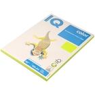 Бумага цветная IQ COLOR Neon (А4,80г,NEOGN-зеленый неон) пачка 100л, А+