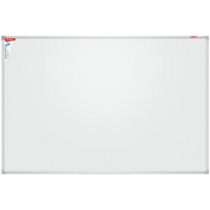 Доска магнитно-маркерная 120х180 см, Premium, алюминиевая рамка, полочка