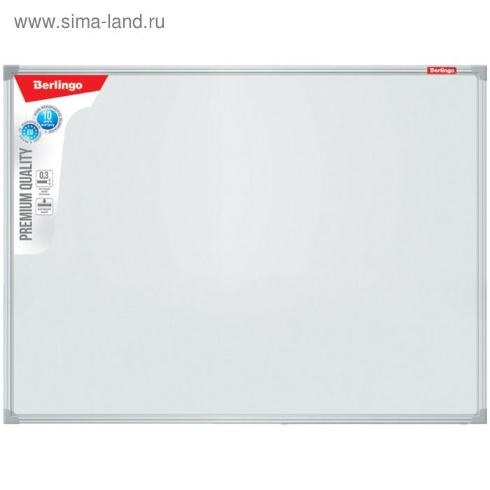 Доска магнитно-маркерная 45*60 Premium, алюминиевая рамка, полочка