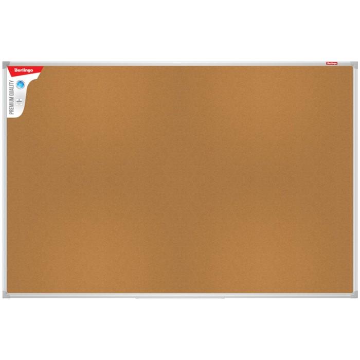 Доска пробковая 60х90 см, Premium, алюминиевая рамка