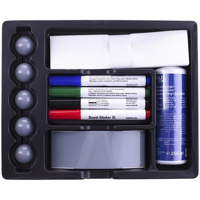 Набор принадлежностей для магнитно-маркерных досок, 12 предметов