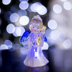 """Toy light """"angel with a guitar"""" (batteries included) 1 LED, RGB color"""