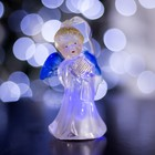 "Toy light ""angel with harp"" (batteries included) 1 LED, RGB color"