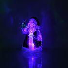 """Игрушка световая """"Дед Мороз с елкой"""" (батарейки в комплекте) 1 LED, RGB"""