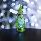 """Игрушка световая """"Ёлочка Дед мороз"""" (батарейки в комплекте) 14 см, 1 LED, RGB, ЗЕЛЕНАЯ"""