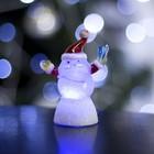 """Игрушка световая """"Дед мороз добряк"""" (батарейки в комплекте) 1 LED, RGB"""