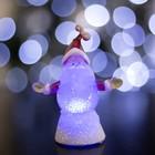 """Игрушка световая """"Дед мороз радушный"""" (батарейки в комплекте) 1 LED, RGB"""