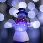 """Игрушка световая """"Снеговик добряк"""" (батарейки в комплекте) 1 LED, RGB"""