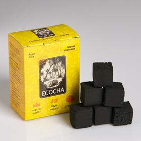 Coconut charcoal for Shisha Ecocha, 24 cube