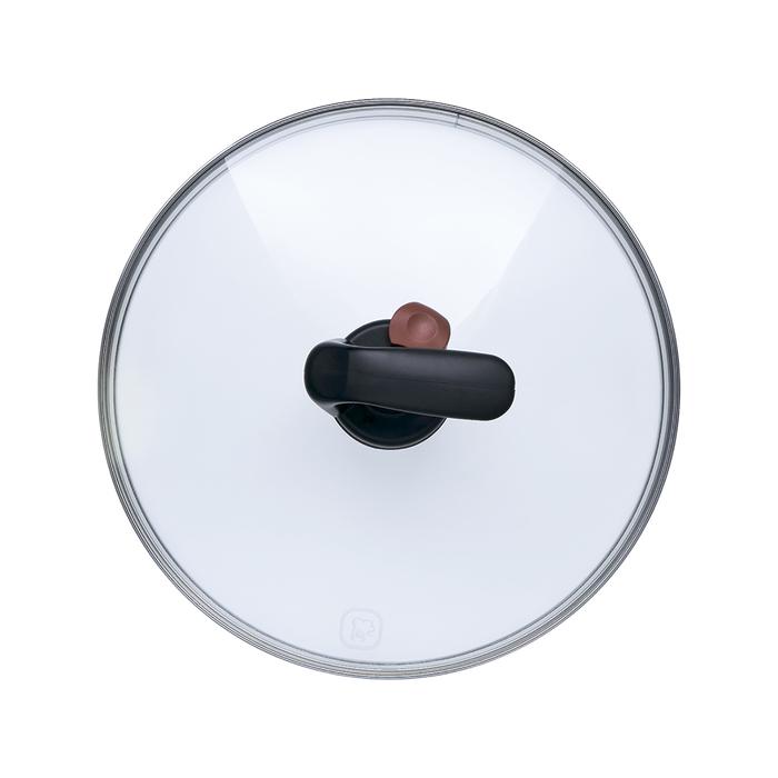 Крышка 24 см TFG 24, с автоматическим клапаном для выпуска пара