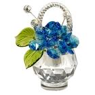 Хрустальные цветы в корзинке №33 AG