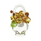 Хрустальные цветы в корзинке №33 LT TOP