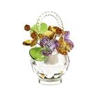 Хрустальные цветы в корзинке №33 LTV