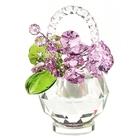 Хрустальные цветы в корзинке №33 ROS