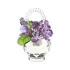 Хрустальные цветы в корзинке №33 VL
