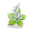 Хрустальные цветы на мраморе №22 CR lb