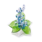 Хрустальные цветы на мраморе №22 LT BL