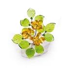 Хрустальные цветы на мраморе №23 LT TOP