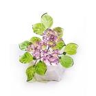 Хрустальные цветы на мраморе №23 ROS