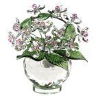 Хрустальные цветы в вазочке №52 CR ros