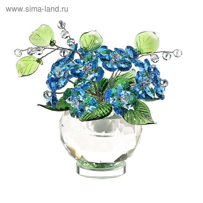 Хрустальные цветы в вазочке №53 Ant Green