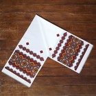 "The Towel ""Ornament. Red"", 150х36 cm"